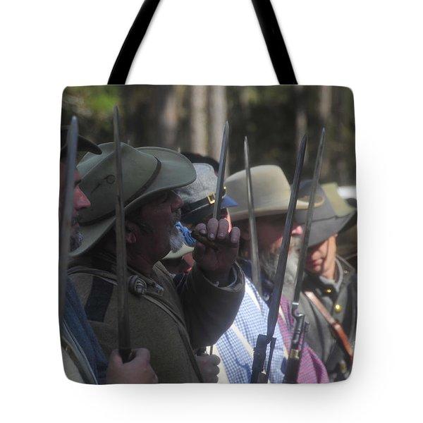 Rebel Bayonets Tote Bag by David Lee Thompson