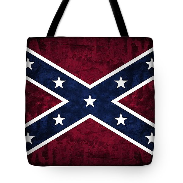 Rebel Flag Tote Bag