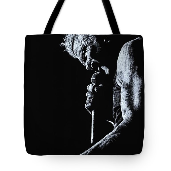Rebel Yell Tote Bag by Richard Young