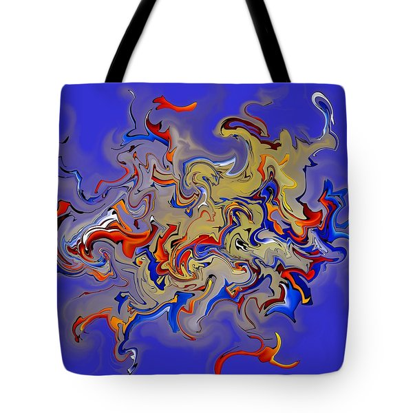Rebilliosia V1 - Digital Abstract Tote Bag