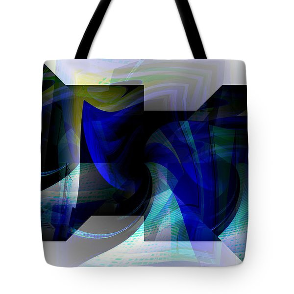 Transparency 2 Tote Bag by Thibault Toussaint