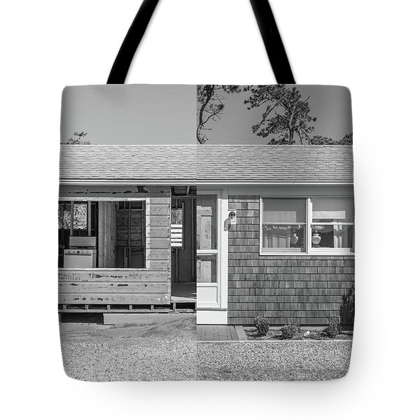 Tote Bag featuring the photograph Rebirth Cape Cod Cottage by Edward Fielding