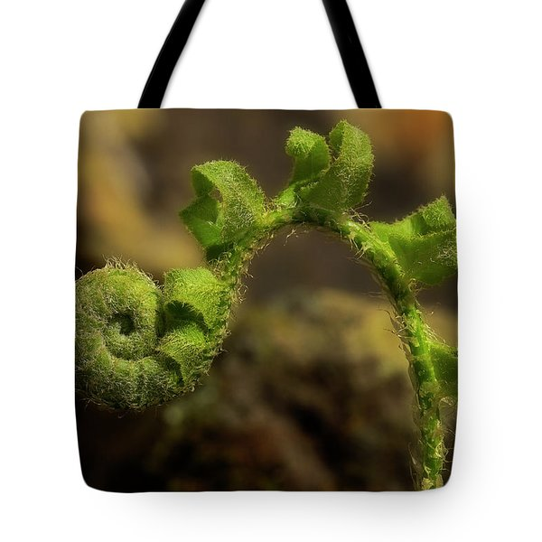 Tote Bag featuring the photograph Rebirth by Mike Eingle