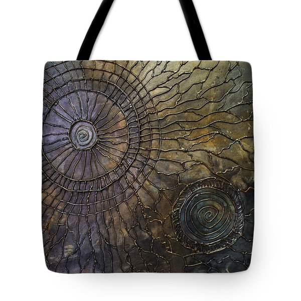 Tote Bag featuring the painting Rebirth by Patricia Lintner