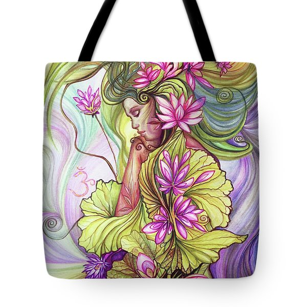Rebirth With The Sacred Lotus Tote Bag