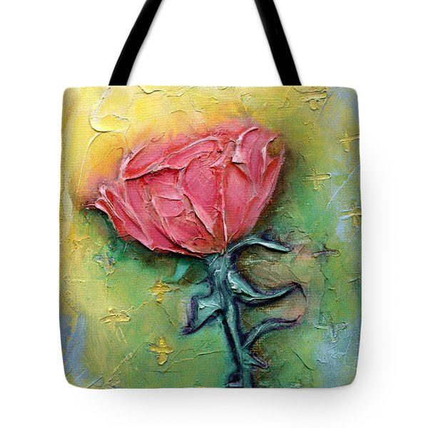 Tote Bag featuring the mixed media Reborn by Terry Webb Harshman