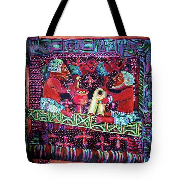 reCalling the Spirit Seat of Power Tote Bag