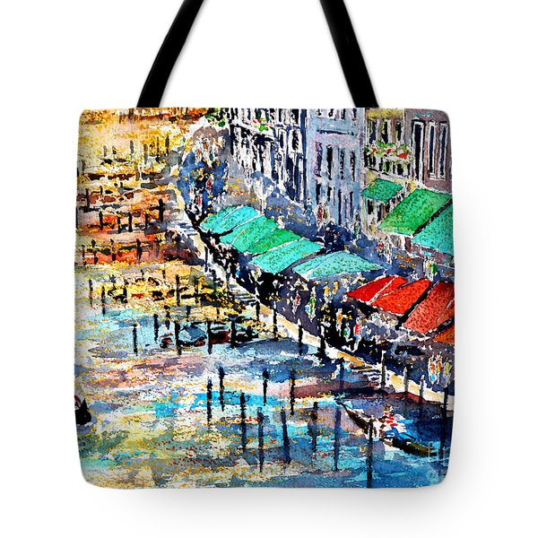 Recalling Venice 02 Tote Bag
