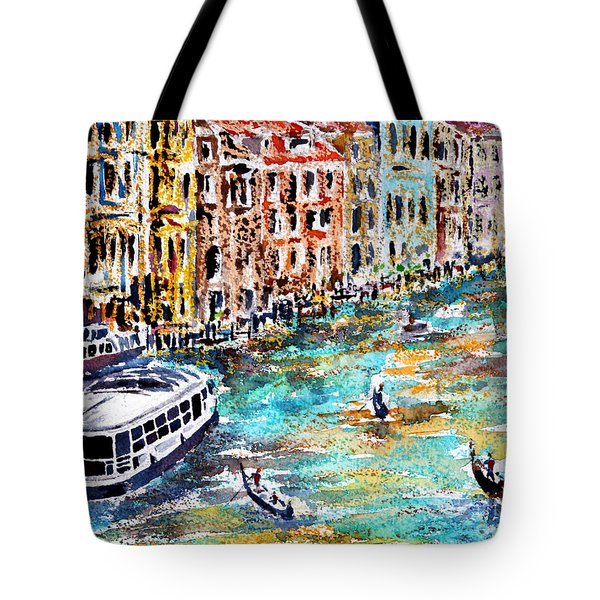 Recalling Venice 01 Tote Bag
