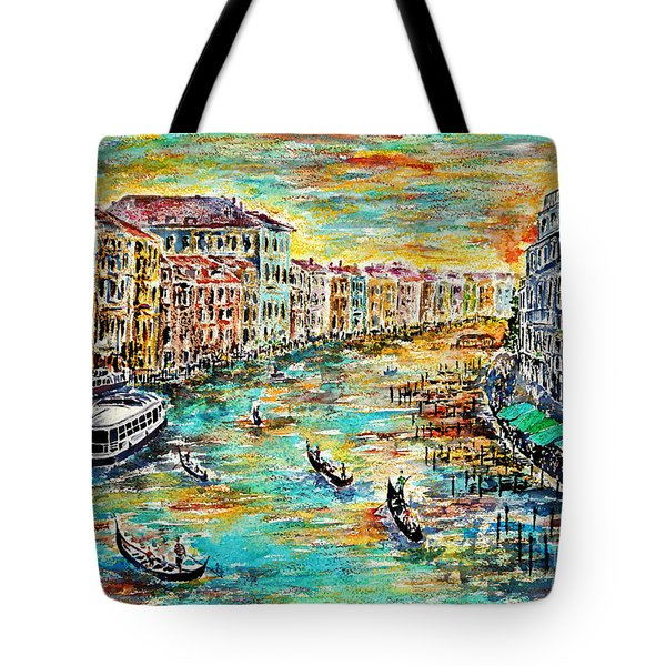 Recalling Venice Tote Bag