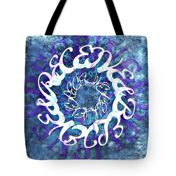 Receive And Believe Squared Tote Bag