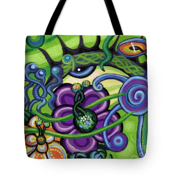Reciprocal Liason Of The Sea II Tote Bag by Genevieve Esson
