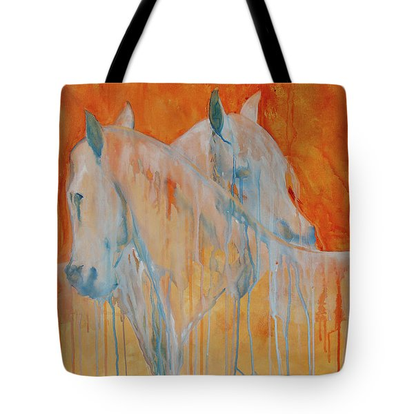 Reciprocity Tote Bag by Jani Freimann