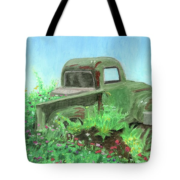Reclaimed Tote Bag