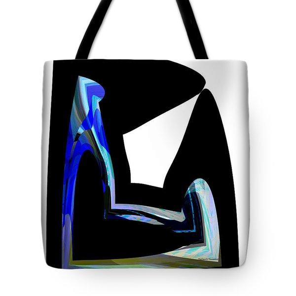 Recline Tote Bag by Thibault Toussaint