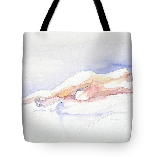 Reclining Figure  Tote Bag