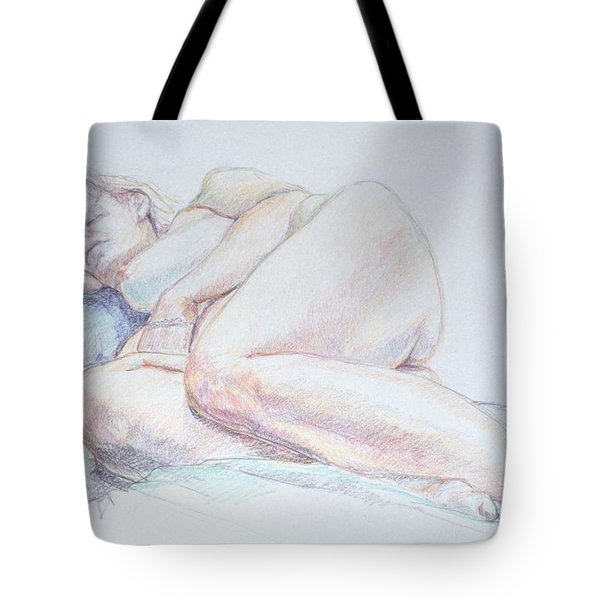 Reclining Study 2 Tote Bag