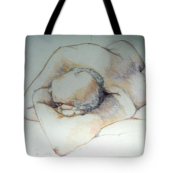Reclining Study 3 Tote Bag