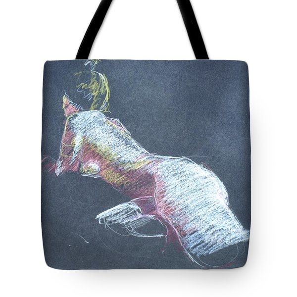 Reclining Study 4 Tote Bag