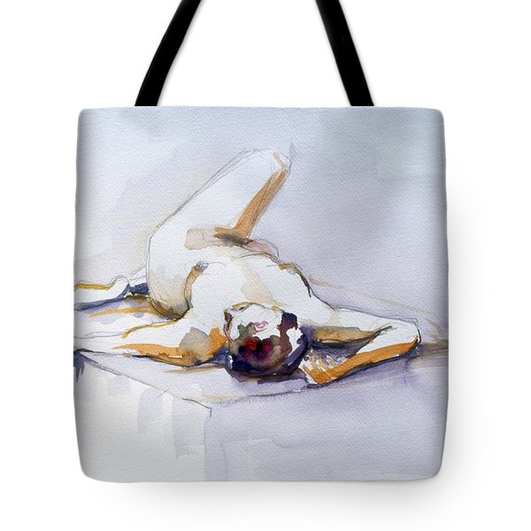 Reclining Study 6 Tote Bag