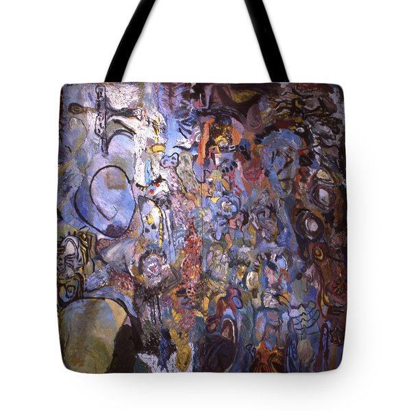 Recognition Of Baselitz, Schnabel, Langlais Tote Bag
