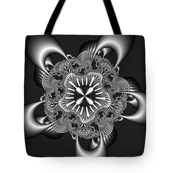 Tote Bag featuring the digital art Recomizing by Andrew Kotlinski