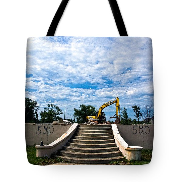 Reconstruction Tote Bag by Christopher Holmes