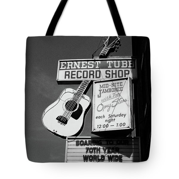 Record Shop- By Linda Woods Tote Bag