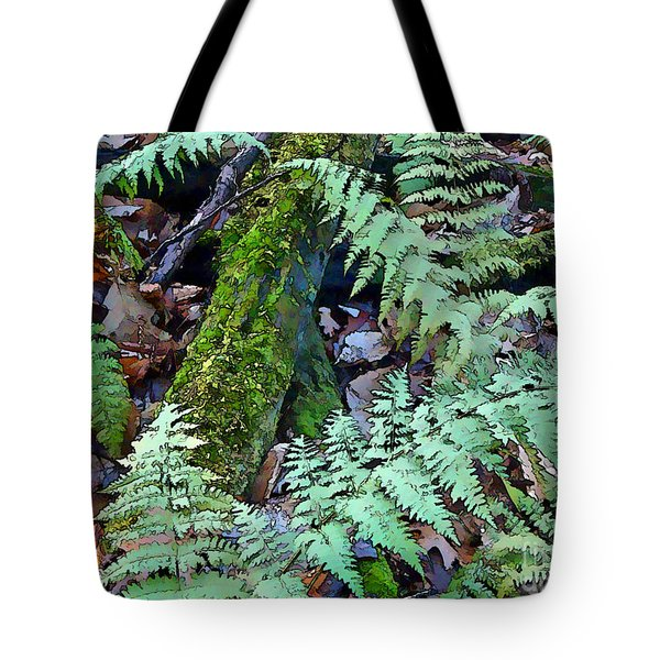 Record Warmth Tote Bag by Betsy Zimmerli