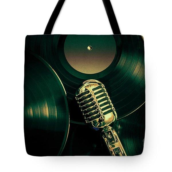 Recording Studio Art Tote Bag