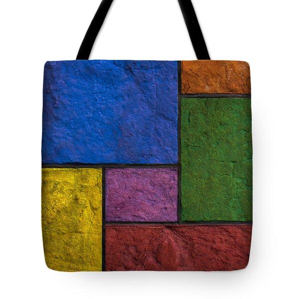 Rectangles Tote Bag