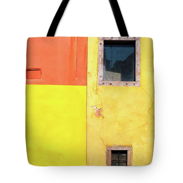 Tote Bag featuring the photograph Rectangles by Silvia Ganora