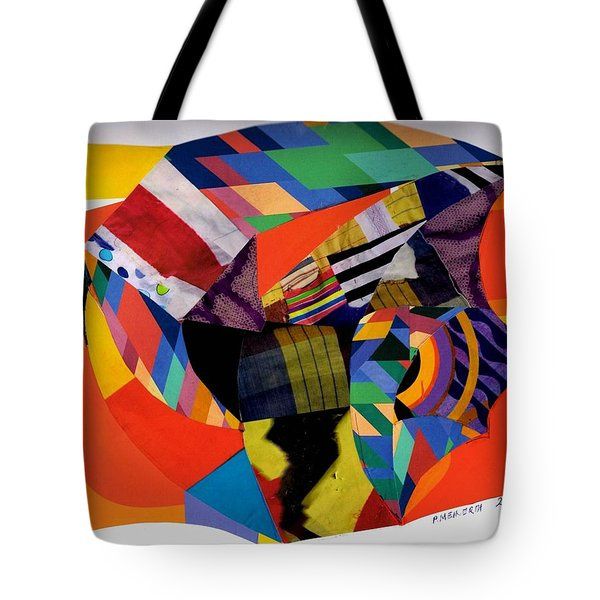 Recycled Art Tote Bag