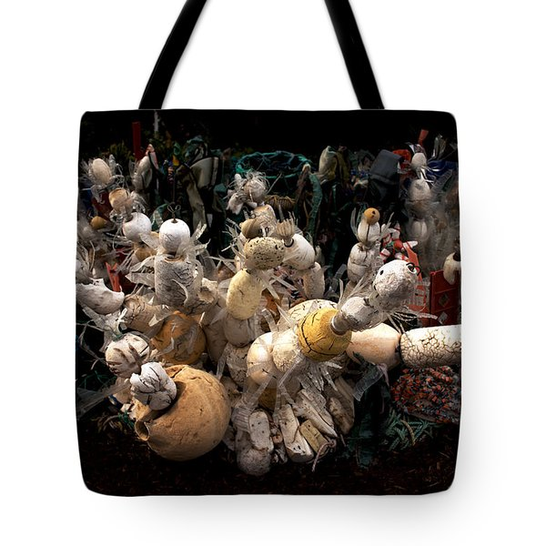 Recycling Art Tote Bag by Ivete Basso Photography