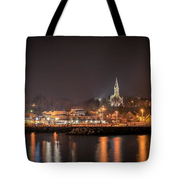 Red 1860 Tote Bag