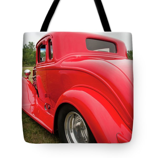 Red 1994 Tote Bag by Guy Whiteley