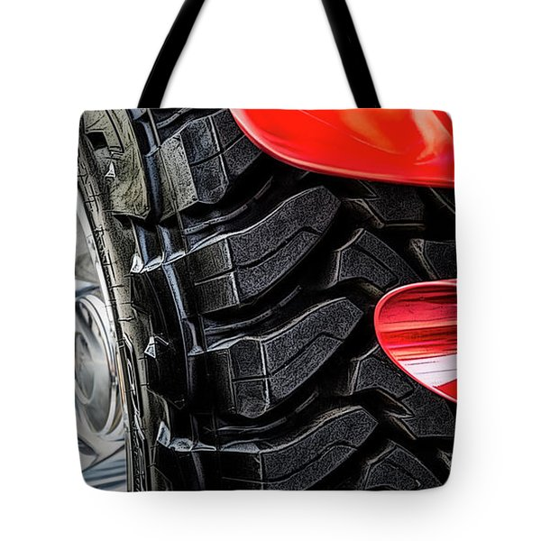 Tote Bag featuring the photograph Red 4x4 by Brad Allen Fine Art