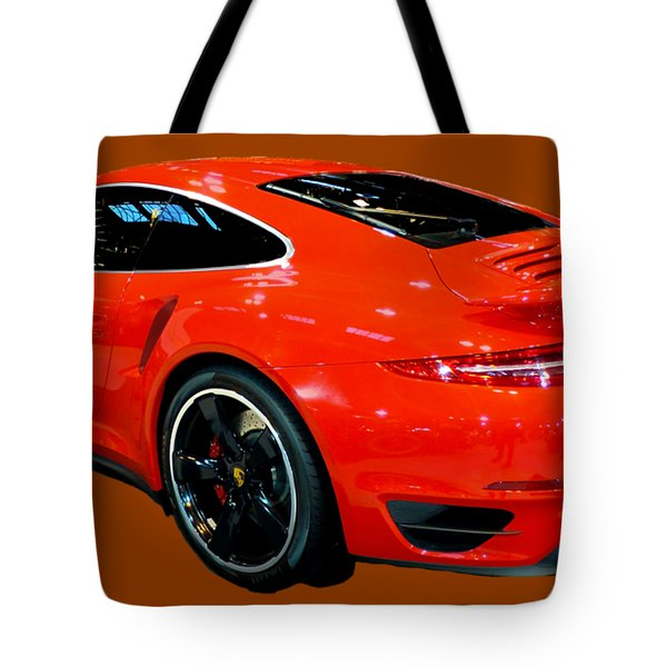Red 911 Tote Bag