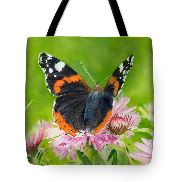 Red Admiral Tote Bag
