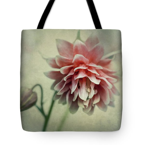 Tote Bag featuring the photograph Red And Pink Columbine by Jaroslaw Blaminsky