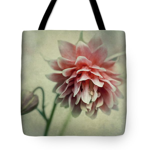 Red And Pink Columbine Tote Bag