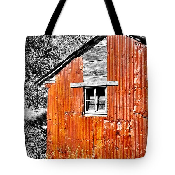 Red Armor Tote Bag