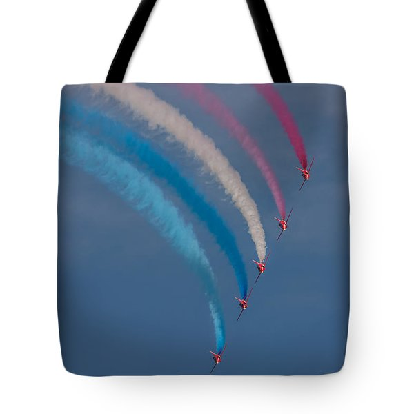 Red Arrows Loop Tote Bag
