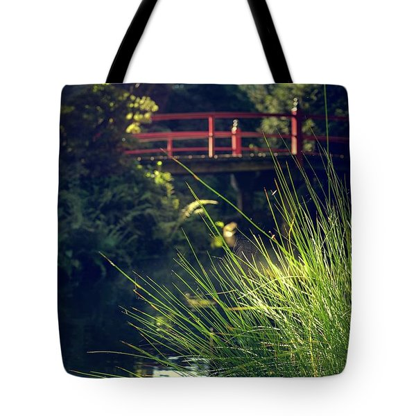 Red At Kubota Tote Bag