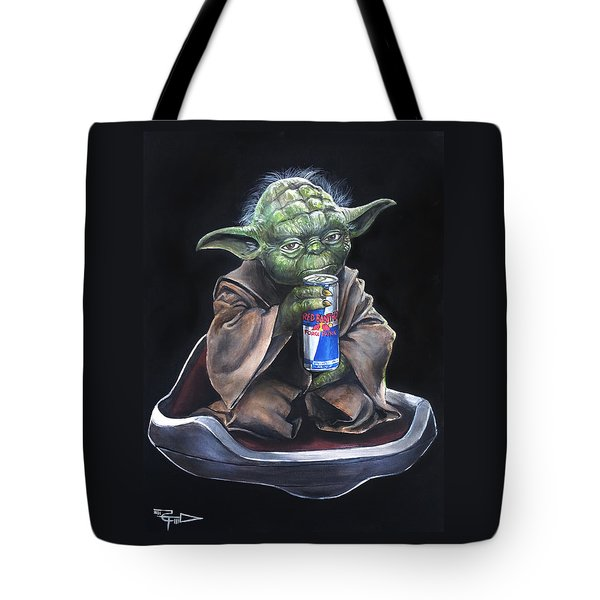 Red Bantha Tote Bag by Tom Carlton