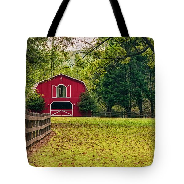 Red Barn 2 Tote Bag