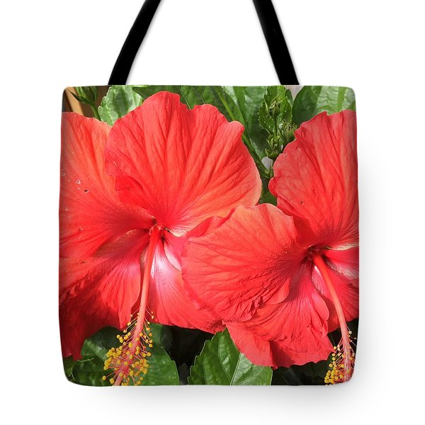 Red Beauties Tote Bag