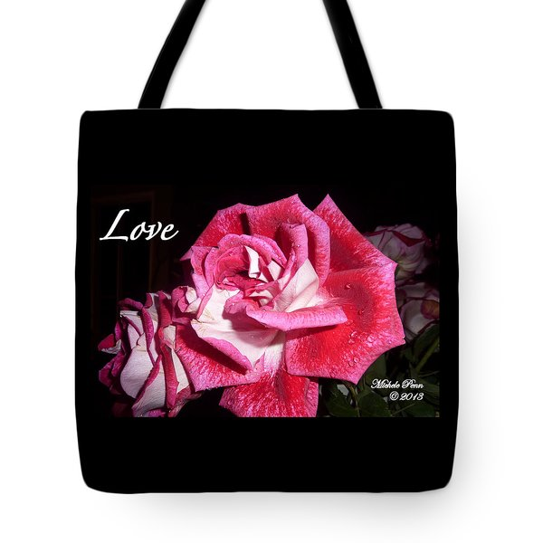 Red Beauty 3 - Love Tote Bag