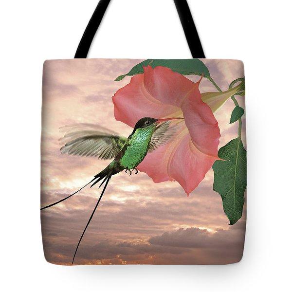 Red-billed Streamertail Hummingbird Tote Bag
