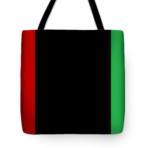 Red Black And Green Tote Bag